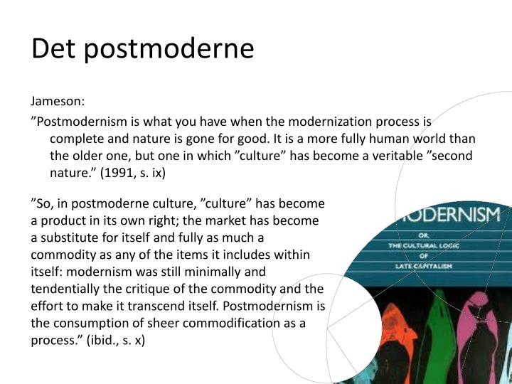 Det postmoderne