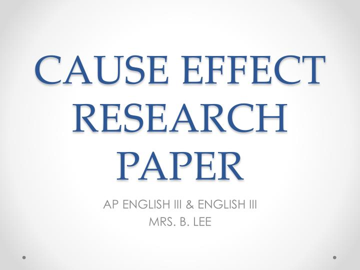 english composition research papers