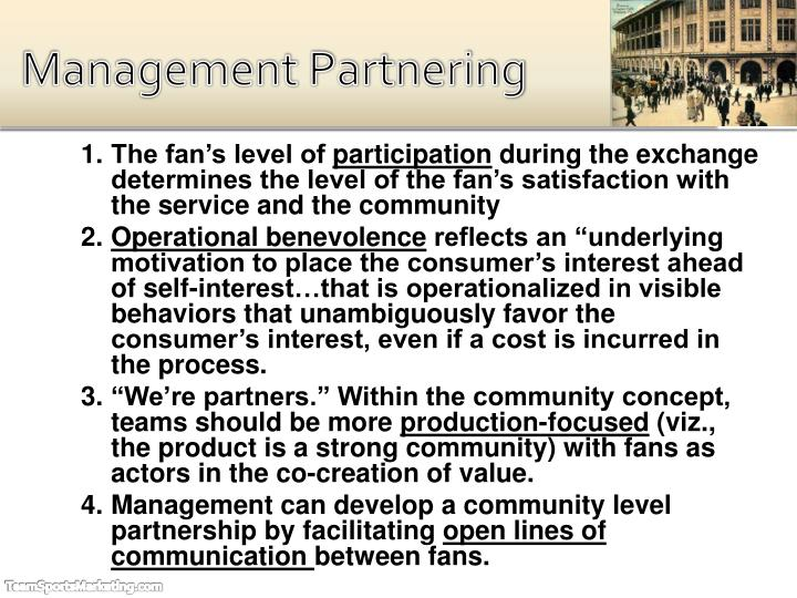 Management Partnering