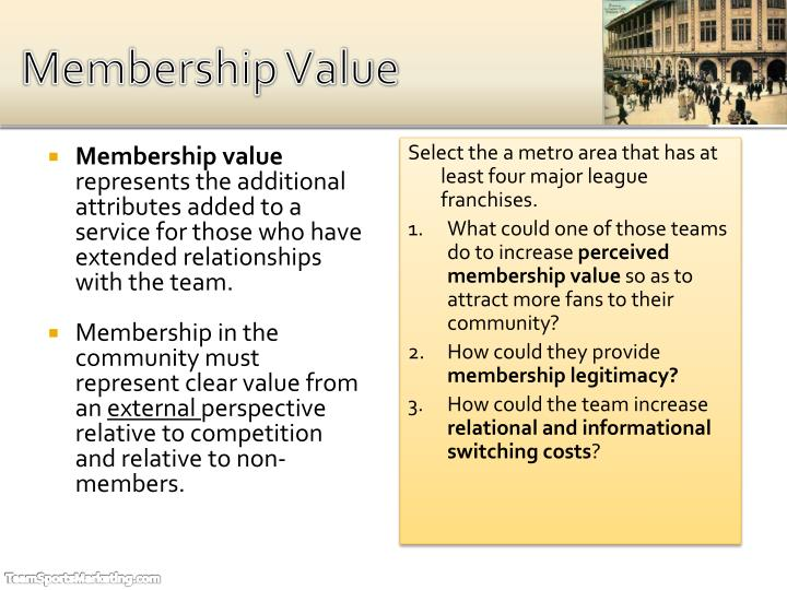 Membership Value