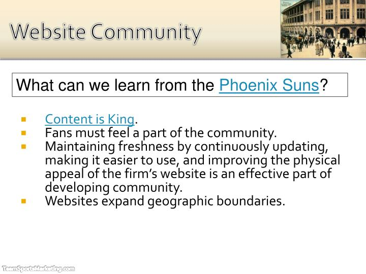 Website Community