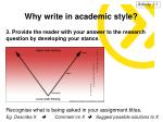 why write in academic style3