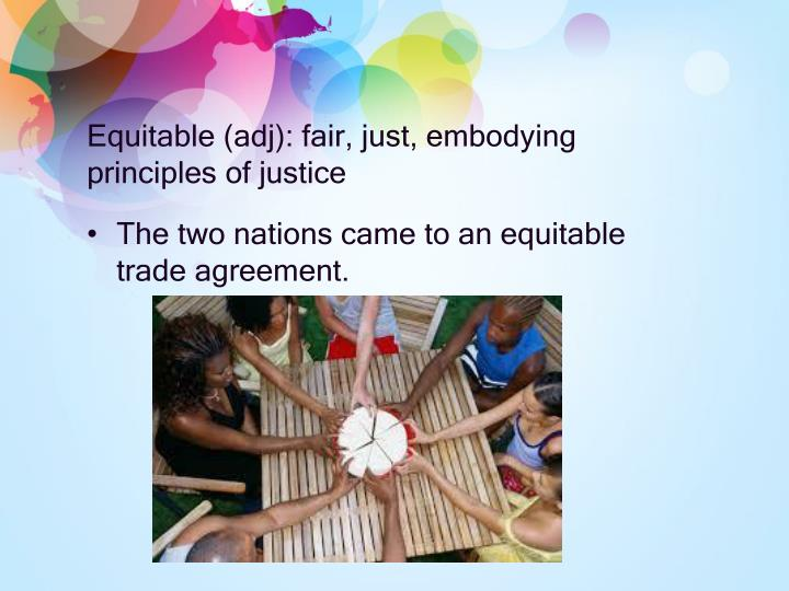 Equitable (