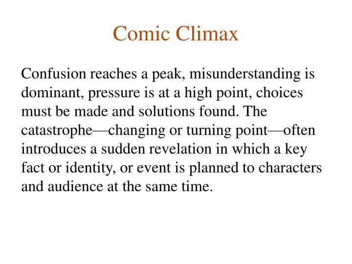 Comic Climax