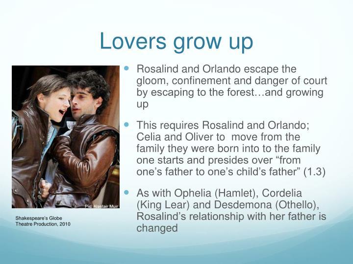 Lovers grow up