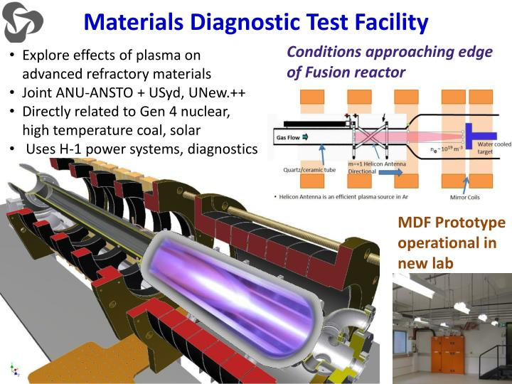 Materials Diagnostic Test Facility