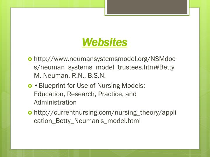 betty neuman s systems model case study The betty neuman systems model in nursing practice: a case study approach  the value  research is becoming increasingly evident in the literature nursing  is.