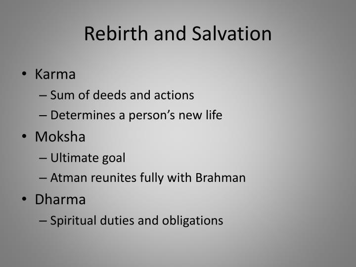 Rebirth and Salvation
