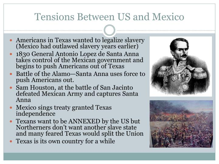 Tensions Between US and Mexico