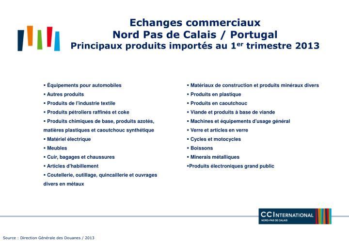 Echanges commerciaux