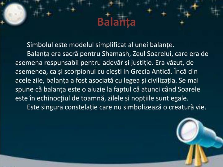 Balanța