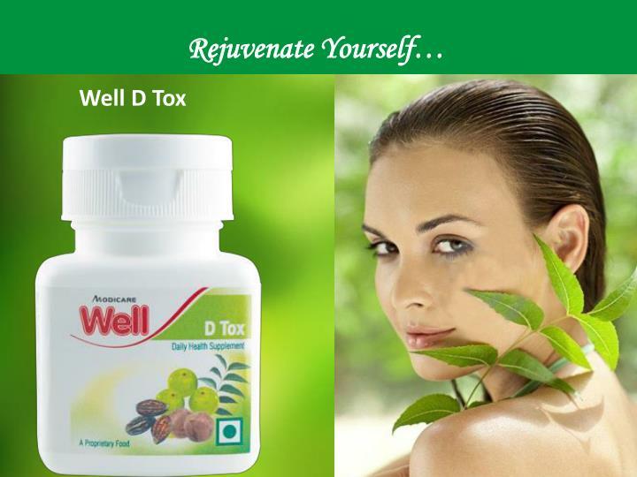 Rejuvenate Yourself…