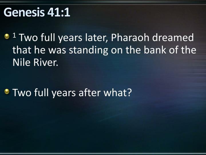 Genesis 41:1