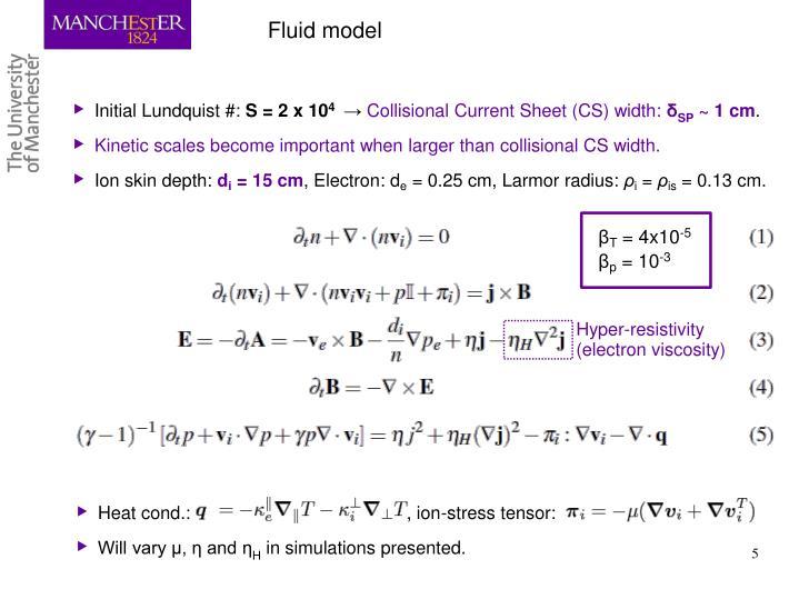 Fluid model