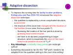 adaptive dissection