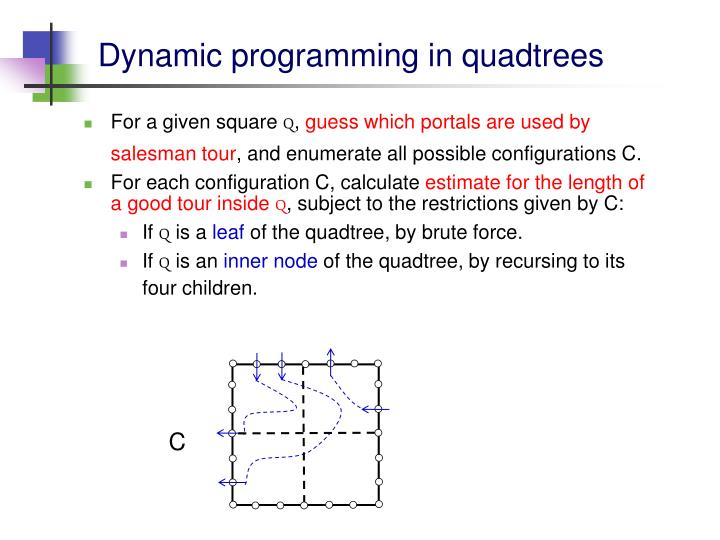 Dynamic programming in