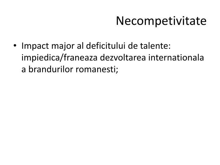 Necompetivitate