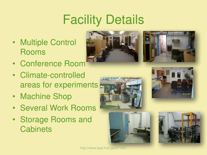 Facility Details