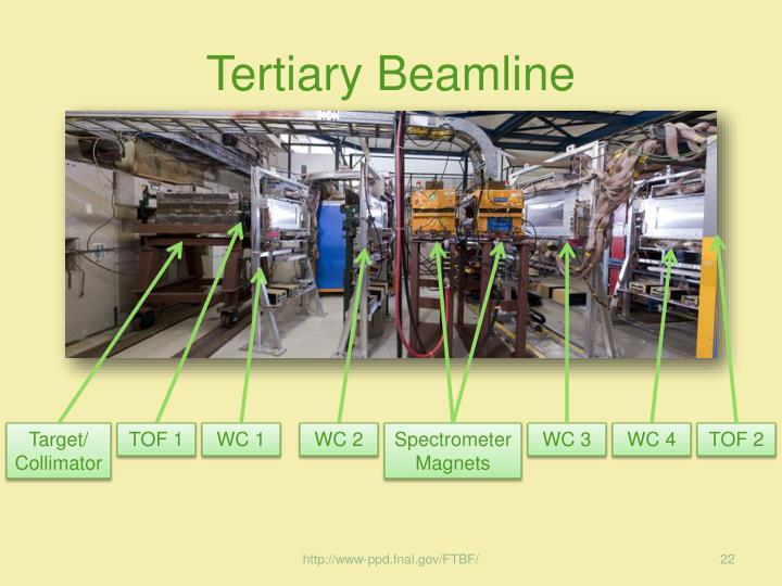 Tertiary Beamline