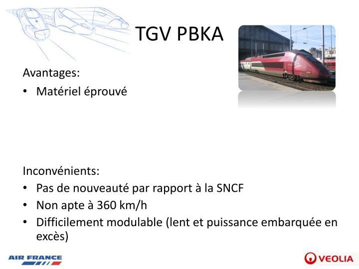 TGV PBKA