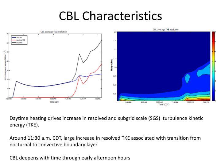 CBL Characteristics