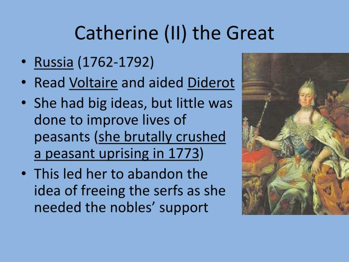 Catherine (II) the Great