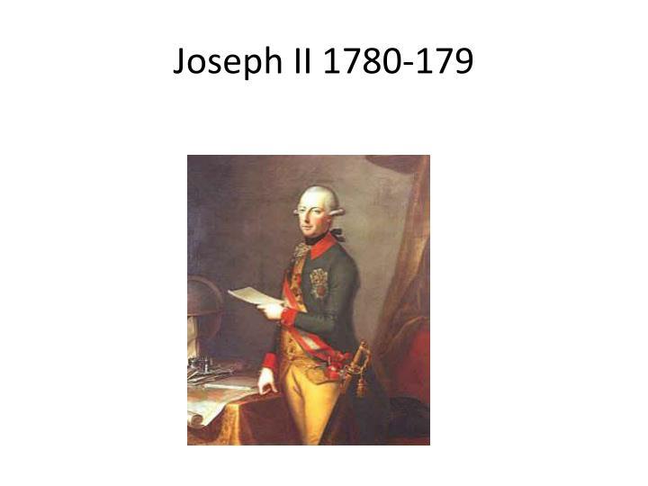 Joseph II 1780-179