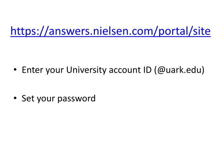 Https answers nielsen com portal site