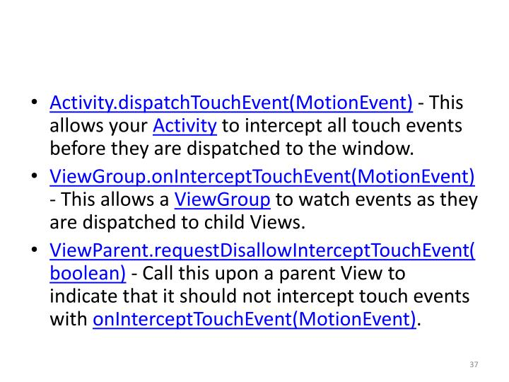 Activity.dispatchTouchEvent