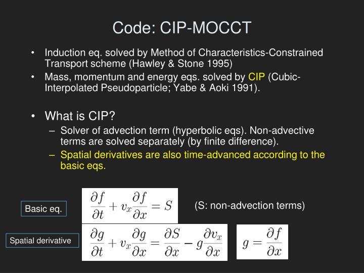 Code: CIP-MOCCT