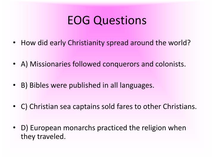 EOG Questions