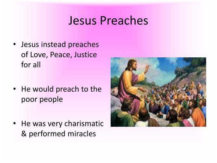 Jesus Preaches