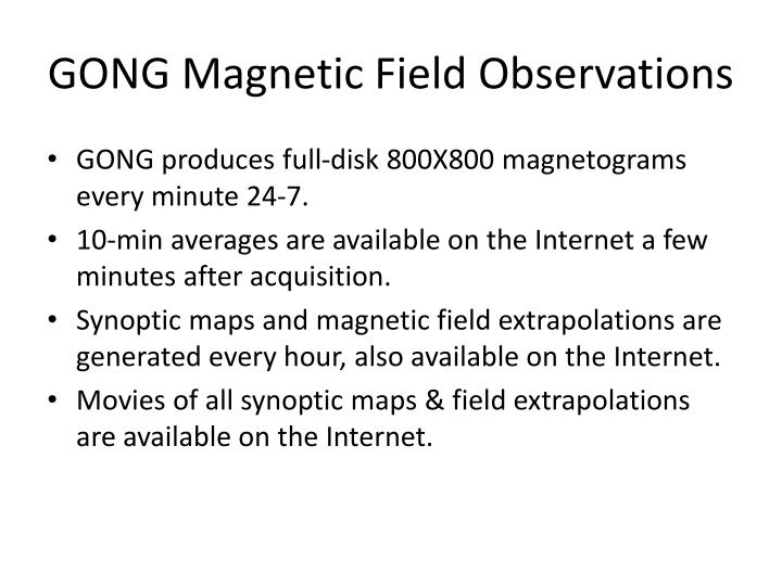 GONG Magnetic