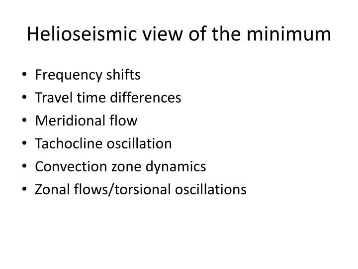 Helioseismic