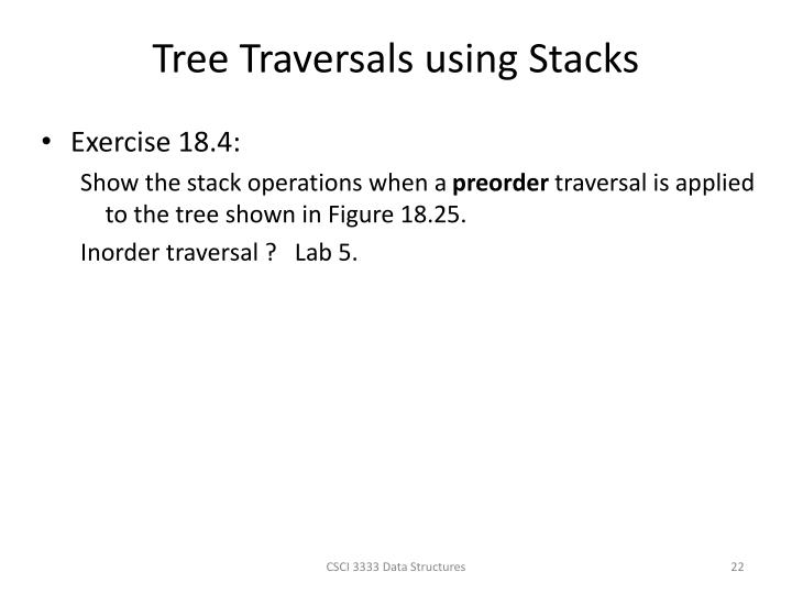 Tree Traversals