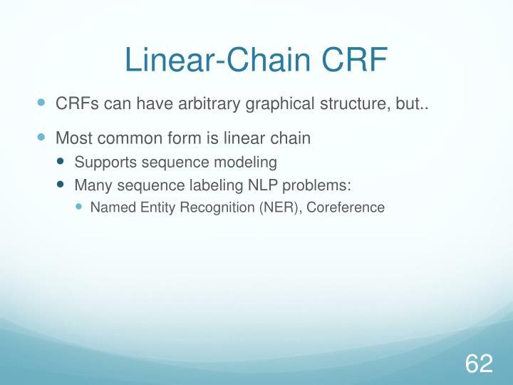 Linear-Chain CRF