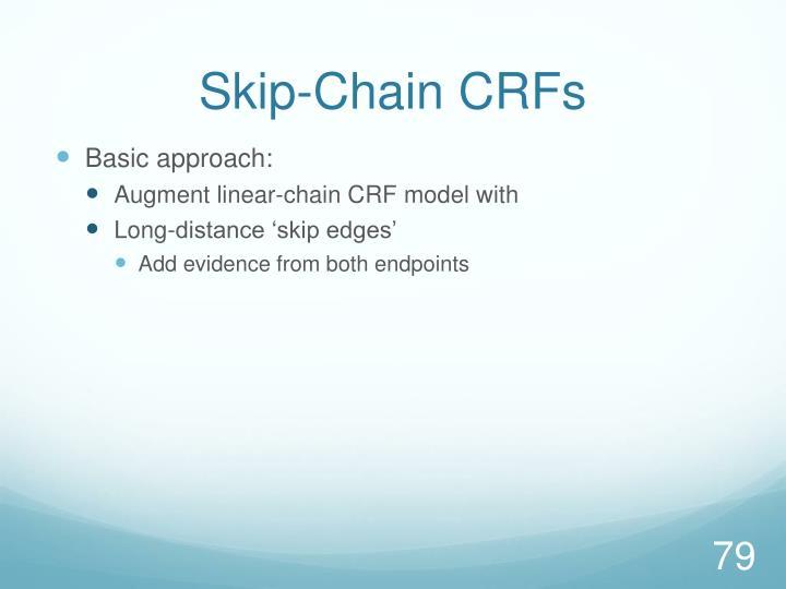Skip-Chain CRFs