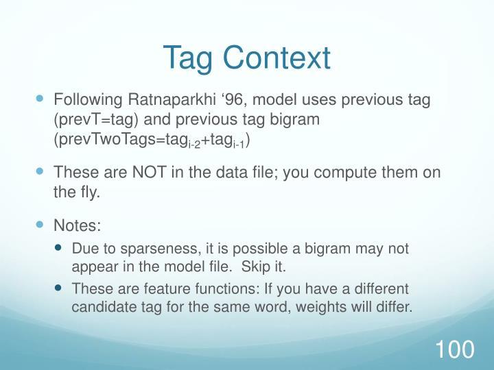 Tag Context