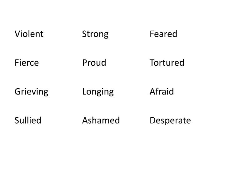 ViolentStrong Feared