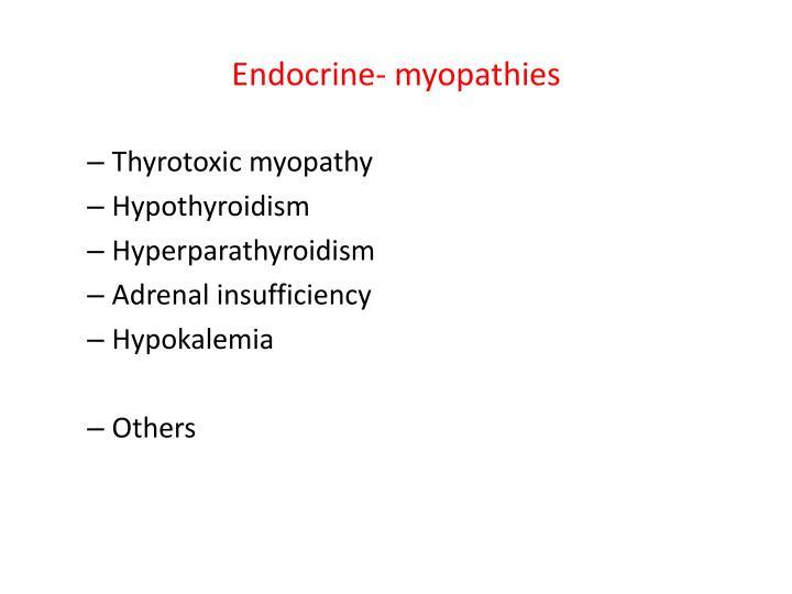 Endocrine-