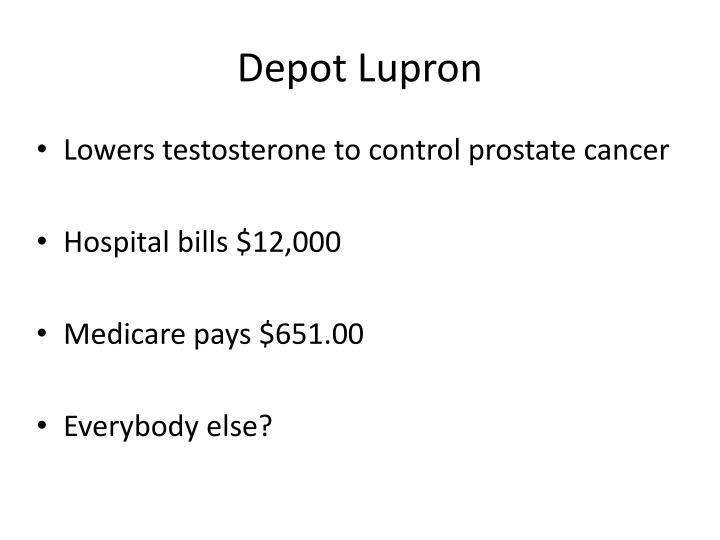 Depot Lupron