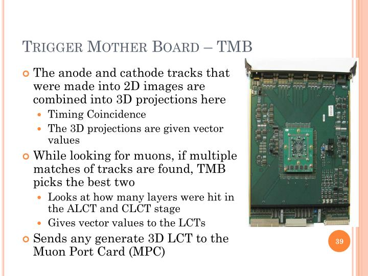 Trigger Mother Board – TMB