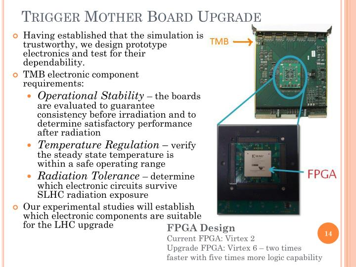Trigger Mother Board Upgrade
