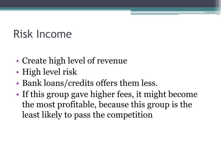 Risk Income