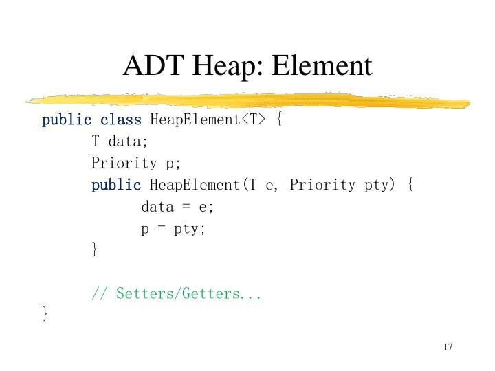 ADT Heap: Element