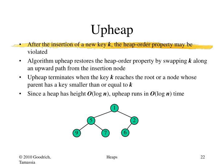Upheap