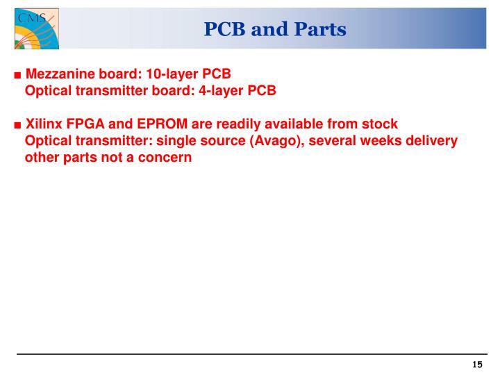 PCB and Parts