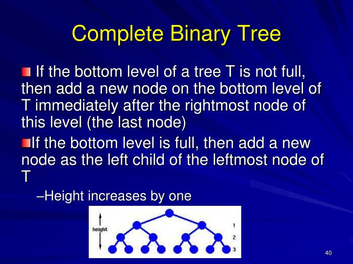 Complete Binary Tree