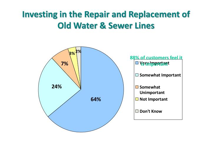Investing in the Repair and Replacement of
