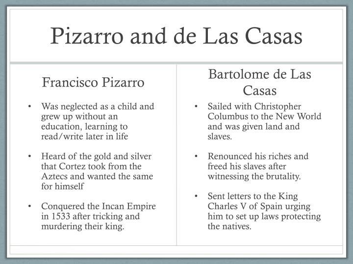 Pizarro and de Las Casas